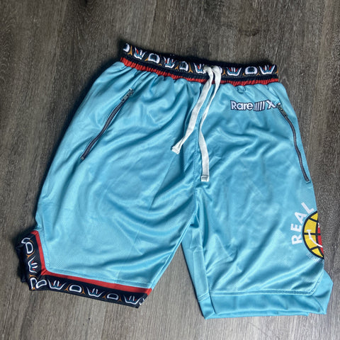"""Grizz"" Real is Rare Mesh Shorts"