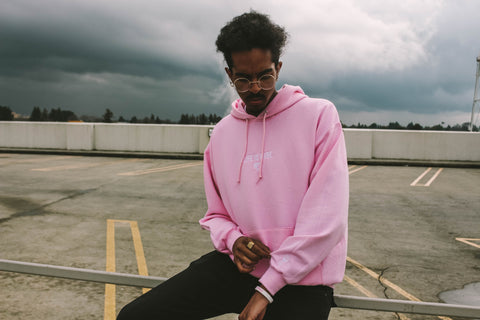 """Snow Rose"" Life is Rare Hoodie"