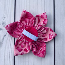 Load image into Gallery viewer, Handmade Flower - Pink Leopard