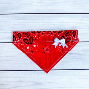 Pet Bandana - Red Bandana