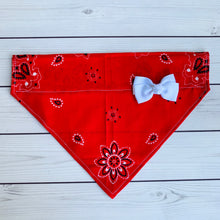 Load image into Gallery viewer, Pet Bandana - Red Bandana