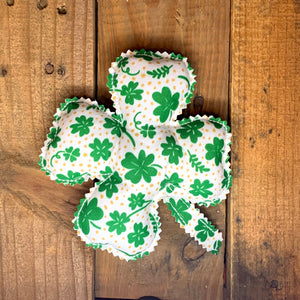 Handmade St. Patrick's Day Shamrocks