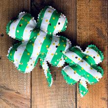 Load image into Gallery viewer, Handmade St. Patrick's Day Shamrocks
