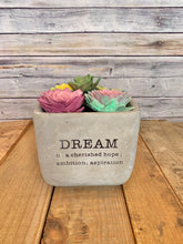 Load image into Gallery viewer, Dream Cement Succulent Planters