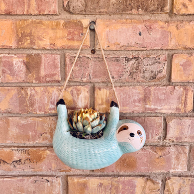 Don't Hurry Be Happy Hanging Sloth
