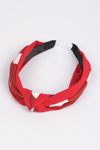 Knotted Dot Fabric Headband