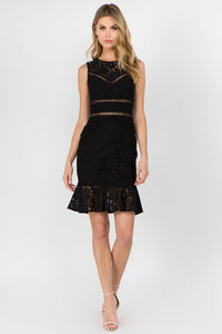 Bodycon Lace Mini Dress