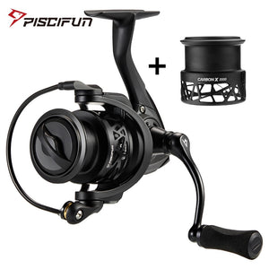 Piscifun Carbon X Spinning Reel w/ Extra Spool