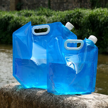 Load image into Gallery viewer, 5 or10L Outdoor Collapsible Drinking Water Carrier Container