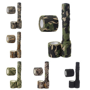5cmx2.2m Army Camo Outdoor Hunting Shooting Blind Wrap Camouflage Stealth Tape Waterproof Wrap Durable