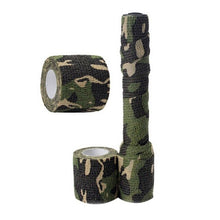 Load image into Gallery viewer, 5cmx2.2m Army Camo Outdoor Hunting Shooting Blind Wrap Camouflage Stealth Tape Waterproof Wrap Durable