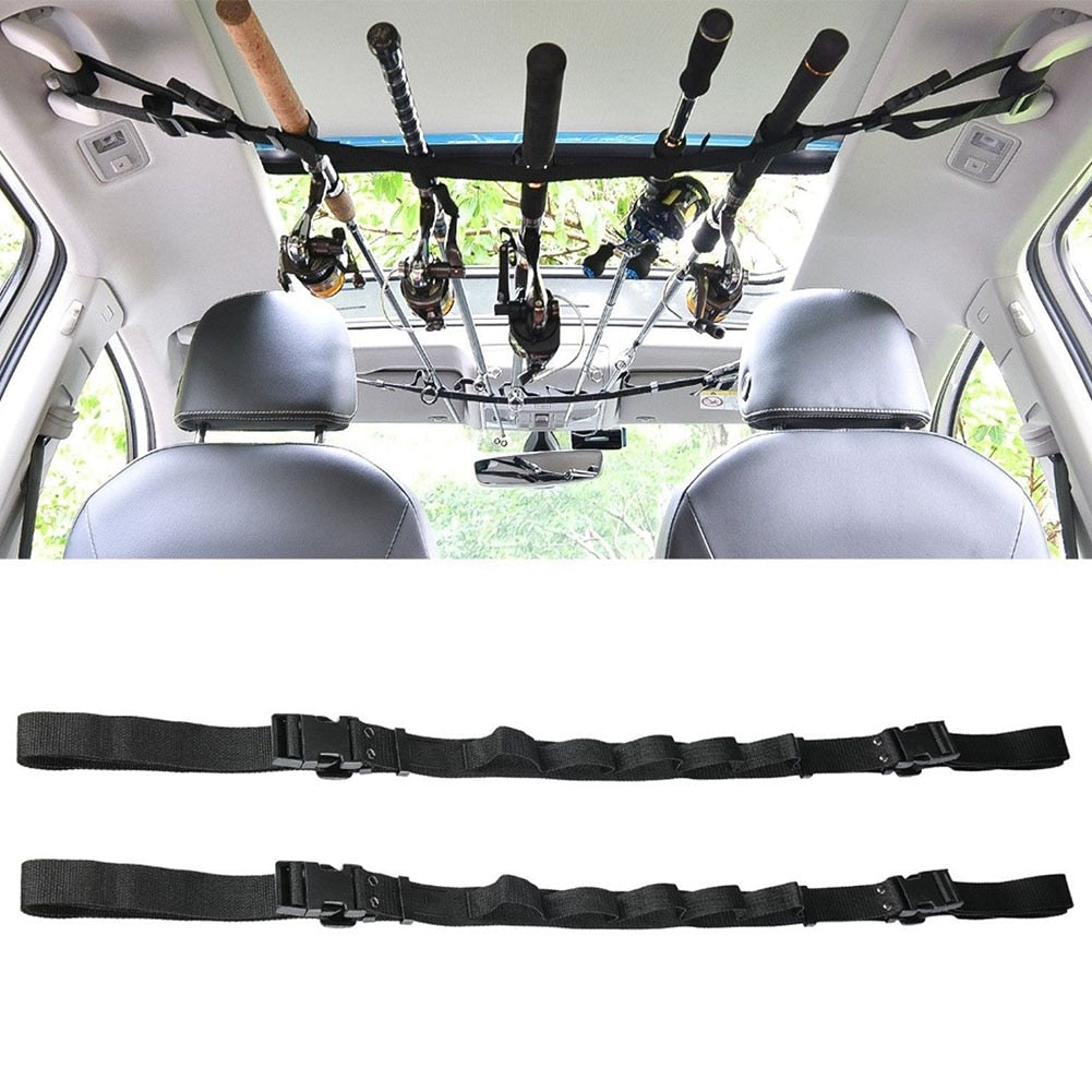 Automotive Fishing Rod Carrier