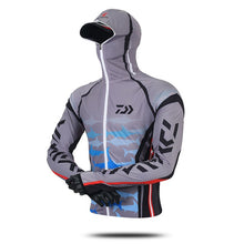 Load image into Gallery viewer, Daiwa Sunand UV Protection Fishing Hoodie