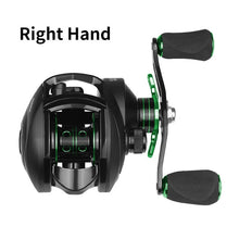 Load image into Gallery viewer, Best Baitcasting Reel 8.1:1 12+1BB Bass Fishing Reel 8KG Max Drag Left Right Hand Reel Reinforced Nylon Body White Bass YL-109