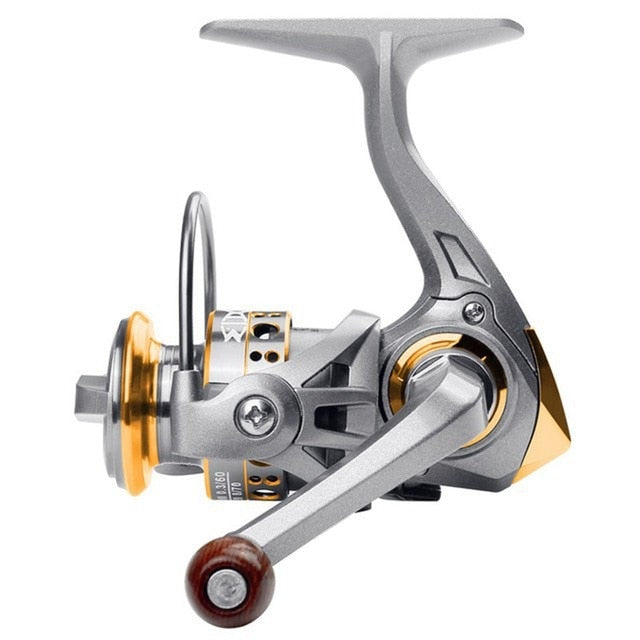 Balight 12BB 5.2:1 Mini Spinning Reel Stainless Steel Spool