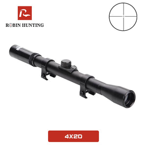4x20 Telescopic Sight Phalanx gear Outdoor crosshair Air Rifle Telescopic Sights Mounts Hunting Sniper With 11mm Rail Mount