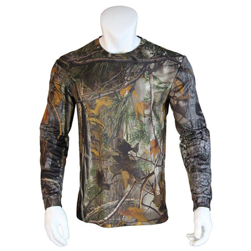 Generation Camouflage Long-Sleeve T-shirt Moisture Wicking Antibacterial Breathable Camouflage