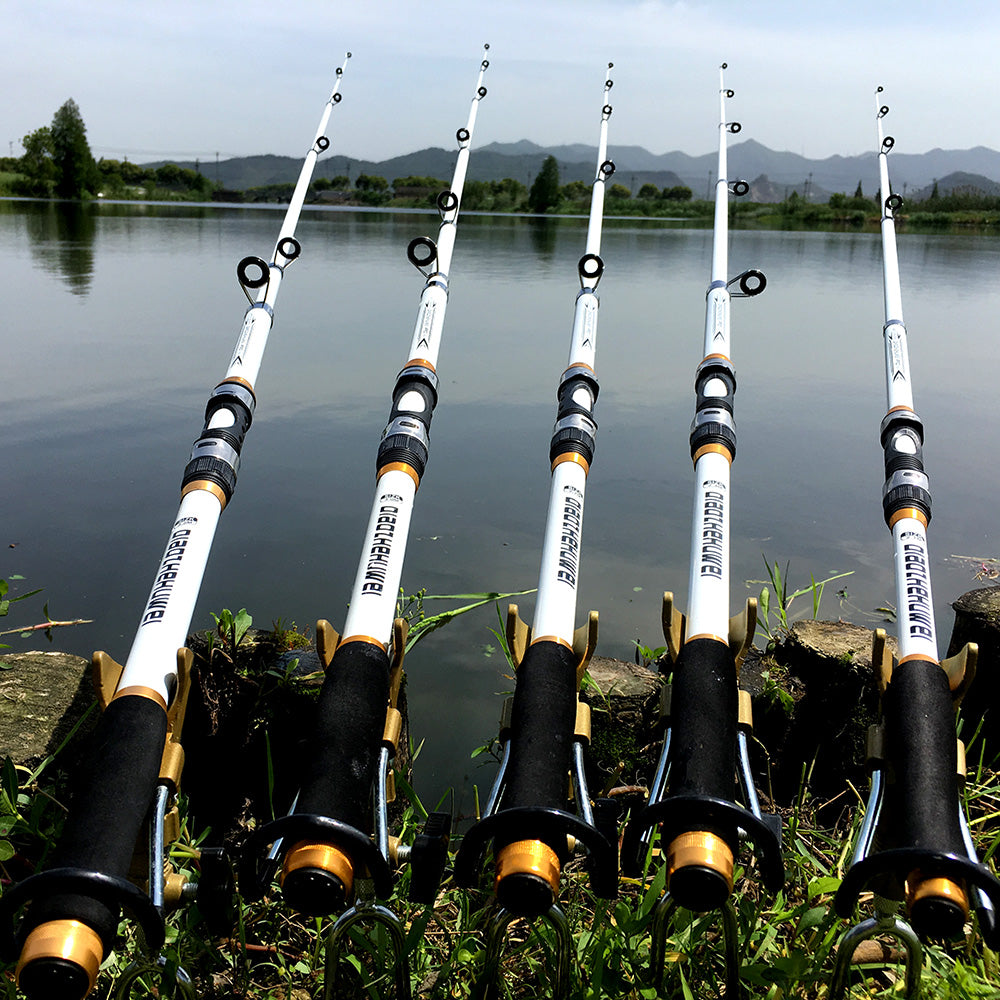 Carbon Fiber Telescopic Spinning Rod