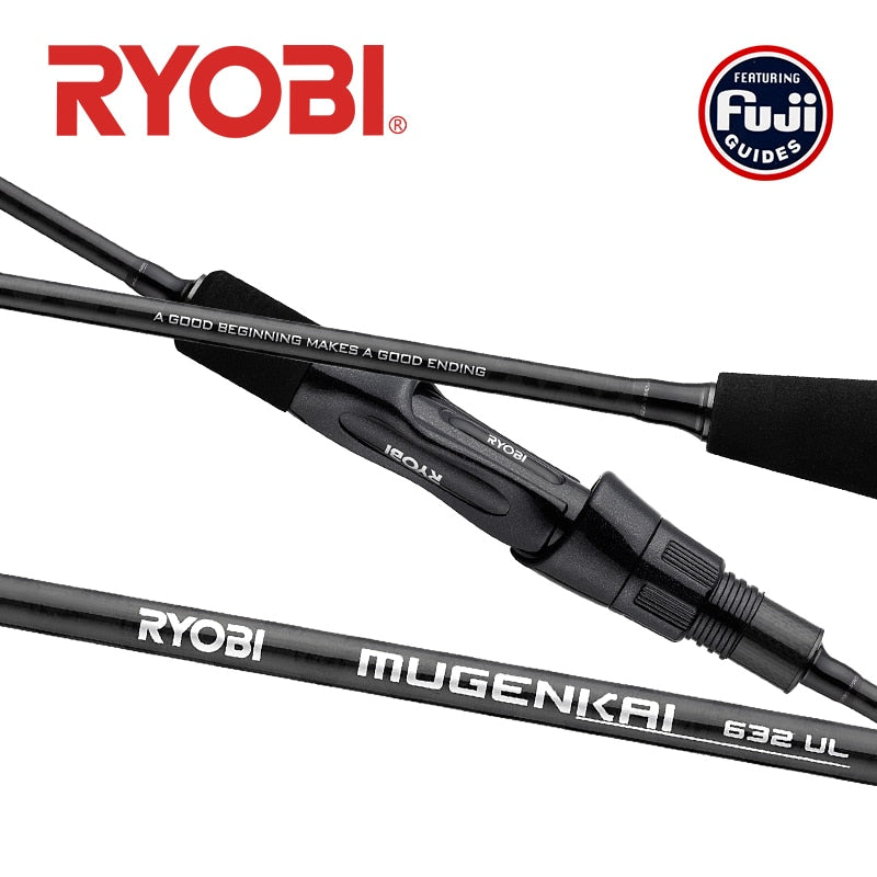 Ryobi Light Action Carbon Spinning Rod