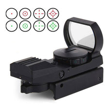 Load image into Gallery viewer, Hunting 20mm Tactical Red Dot Sight Scope Hunting Optics Riflescope Holographic  Reflex 4 Reticle Tactical Gun Accessories