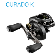 Load image into Gallery viewer, Original SHIMANO CURADO K 200K 200HG 200XG 201K 201HG 201XG Low Profile Baitcasting Reel 7BB MicroModule HAGANE Body Saltwater