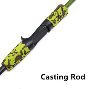 Camo Green Carbon Fiber Fishing Rods