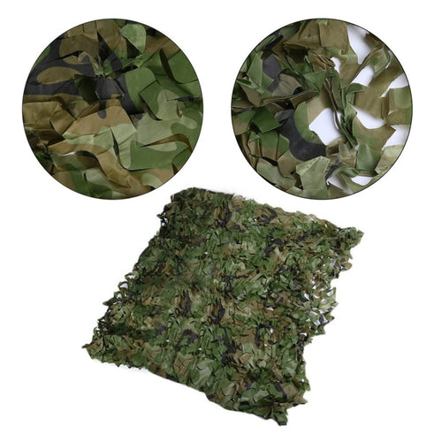 Camouflage Hiding Net Army Military Camo Net Car Covering Tent Hunting Blinds Netting Optional Size Long Cover Conceal
