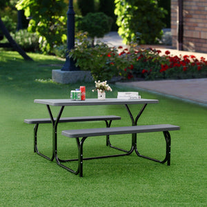 Giantex Picnic Table Bench Set
