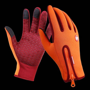 WALK FISH Waterproof Anti-Slip Breathable Fishing Gloves