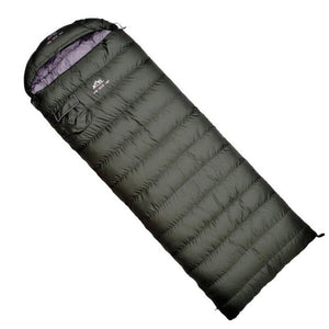 Ultralight Sleeping Bag Comfortable Goose Down Sleeping Bag Camping   Multifunction Travel Bag White Duck Down Lazy Bag S429