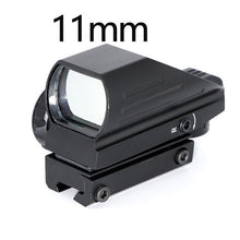 Load image into Gallery viewer, Tactical Reflex Red Green Laser 4 Reticle Holographic Projected Dot Sight Scope Airgun sight Hunting 11mm/20mm Rail Mount AK