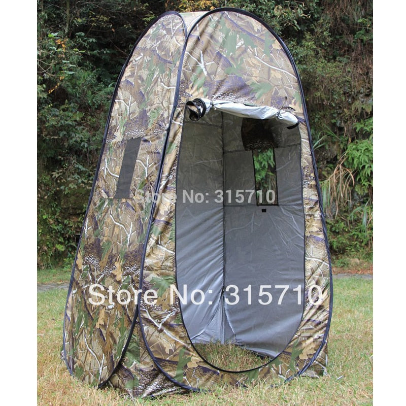 Portable Privacy Shower Toilet Camping Pop Up Tent Camouflage/UV function outdoor dressing tent/photography tent