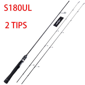 SeekBass UltraFlexible Spinning Rod