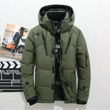 Load image into Gallery viewer, Mens High Quality  Hooded Parkas with Multi-Pockets