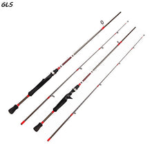 Load image into Gallery viewer, GLS 1.8mCarbon 2 Piece Medium Action Casting/ Spinning Fishing Rod