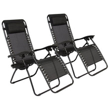 Load image into Gallery viewer, 2pcs Plum Blossom Lock Portable Folding Chairs with Saucer