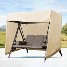 Load image into Gallery viewer, Swing Cover Heavy Duty Dustproof Hammock Cover Glider Canopy Case Patio Furniture Waterproof Cover