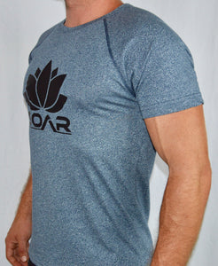 Heather Blue Performance T-Shirt