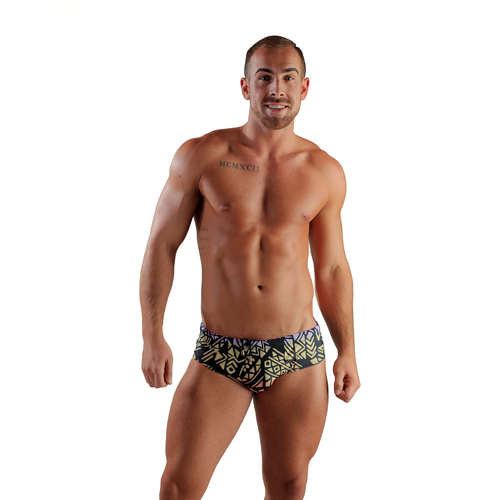 Tribal Swim Brief RAINBBOW