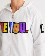 Load image into Gallery viewer, Be You. Men's Windbreaker