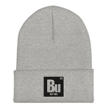 Load image into Gallery viewer, Be You. Bu Black Cuffed Beanie