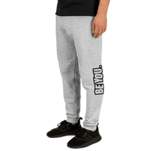 Load image into Gallery viewer, Be You. Black Unisex Joggers