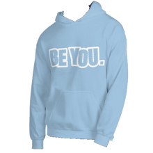 Load image into Gallery viewer, Be You. White Unisex Hoodie