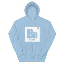 Load image into Gallery viewer, Be You. Bu White Unisex Hoodie