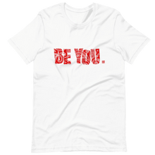 Load image into Gallery viewer, Be You. Bandana Print Red 2 Short-Sleeve Unisex T-Shirt