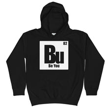 Load image into Gallery viewer, Be You. Bu White Kids Hoodie