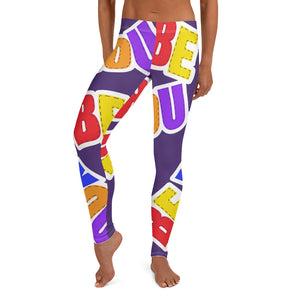 Be You. Original Purple Leggings
