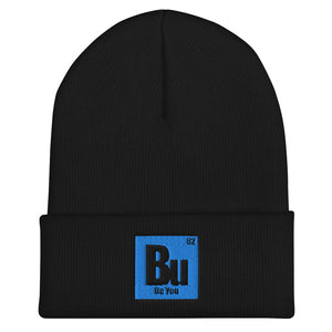 Be You. Bu Teal Cuffed Beanie
