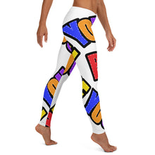 Load image into Gallery viewer, Be You. Original White Leggings