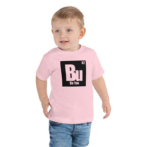 Be You. Bu Black Toddler Short Sleeve Tee